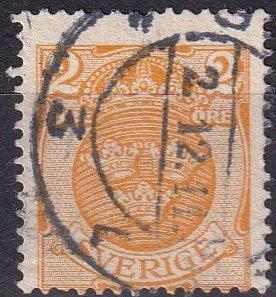 Sweden #68  F-VF Used  CV $4.00  (Z5055)