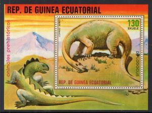 Equatorial Guinea 7884 Dinosaurs Souvenir Sheet MNH VF