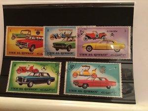 Umm Al Qiwain Motor car  stamps R21600
