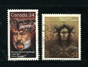 Can #1090-91   -4   used VF 1986 PD