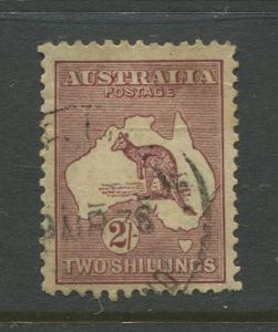 Australia  #125 Used 1935  Single 2/- Stamp