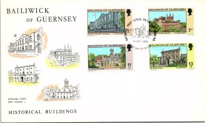 Guernsey, Worldwide First Day Cover