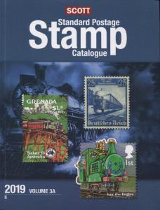 2019 Scott Postage Stamp Catalogue Worldwide Countries G-I Volume 3 (3A-3B) Set