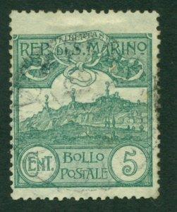San Marino 1903 #42 U SCV (2020) = $7.50