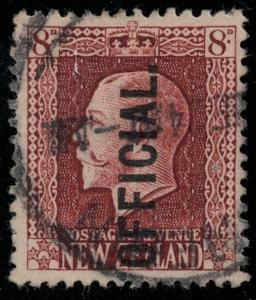 New Zealand 1922 SC O51 Used CV $200.00 Set