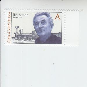 2018 Czech Republic Tradition of Stamp Design - Jiri Bouda   (Scott 3734) mnh