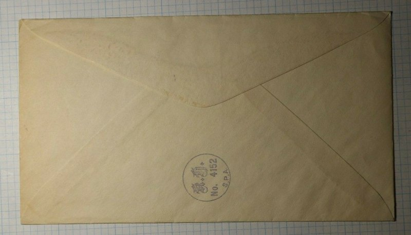 WI Day SPA Fond du Lac Jean Nicolet Phllatelic Convenion Cachet Cover 1933