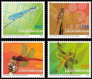 Scott #2020 Dragonflies MNH