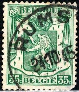 Coat of Arms, Belgium stamp SC#273 used