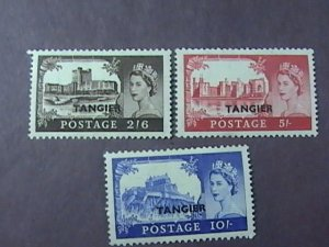 GREAT BRITAIN/OFFICES ABROAD/TANGIERS-576-578-MINT/HINGED--COMPLETE SET--1955