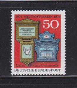 Germany 1153 Set MNH UPU (A)