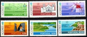 Azores #316-21 MNH  CV $3.70 (X780)
