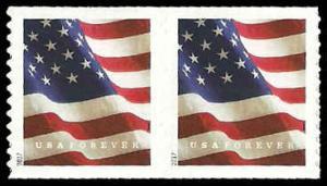 PCBstamps     US #5158 Coil Pair 98c(2x{49c})Flag, MNH, (40)