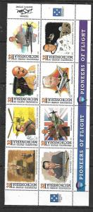 MICRONESIA,249,MNH, PIONEERS OF FLIGHT