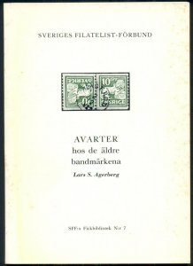 SWEDEN SPECIALIZED STAMP, SOFT COVER, 55 PAGES, WRITTEN IN SWEDISH