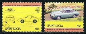 St Lucia #688 Single Used