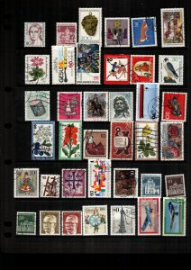 Germany  37  diff  used and mint   lot collection