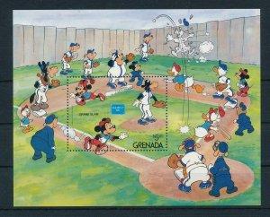 [22517] Grenada 1986 Disney Characters play baseball MNH