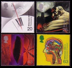 Great Britain The Millennium Series The Inventors' Tale 4v 1999 MNH