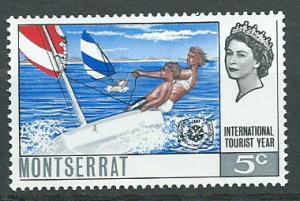 Montserrat SG 190 Mint Very Light Hinge