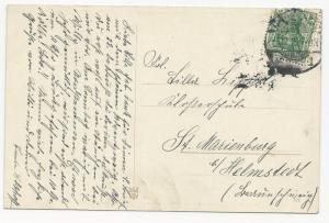 Germany Scott #82 on WWI Post Card