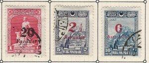 Turkey 673-675 u