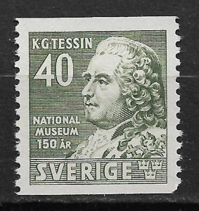 1942 Sweden 331 Architect K. G. Tessing MNH SCV$14