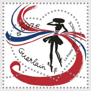 H01 France 2020 Guerlain Heart - Ribbon  MNH Postfrisch