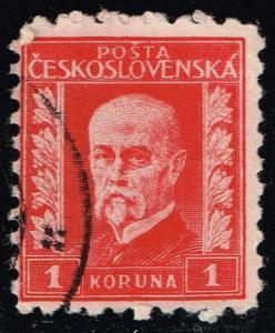 Czechoslovakia #131 President Masaryk; Used (0.25)