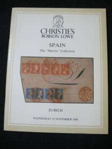 CHRISTIE'S LOWE CATALOGUE 1988 SPAIN THE 'MURCIA' COLLECTION