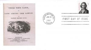 Harriet Beecher Stowe FDC