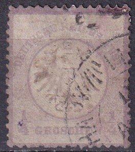 Germany #1 F-VF Used CV $85.00  (Z4428)