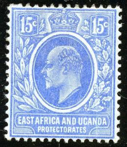 East Africa & Uganda Protectorates #36; MHr; 2019 SCV $34.00