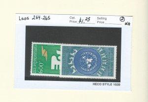 Laos 264-265  MNH