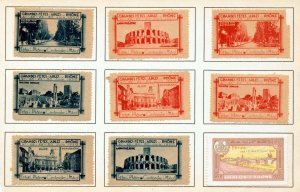 France Early/Modern Poster Labels MH x 29 (NT 3417