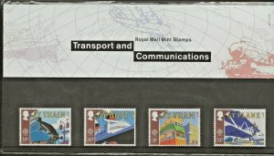 1988 TRANSPORT AND COMMUNICATIONS PRESENTATION PACK 190