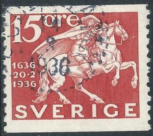 Sweden, Sc #253, 15o Used