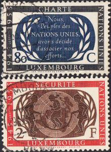 Luxembourg #306-309 Used