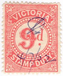(I.B) Australia - Victoria Revenue : Stamp Duty 9d