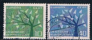 Germany 852-53 Used set Europa 1962 (GI0604P171)+