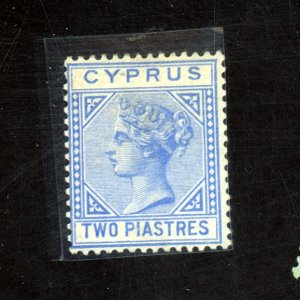 Cyprus #13 MINT FVF OG HR Cat$525