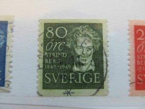 Schweden Suede Sverige Sweden 1949 80o perf 12½ vert fine used A13P43F221