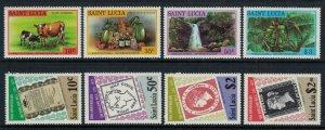 St. Lucia #465-8, 478-81* NH  CV $2.50