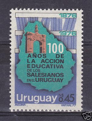 URUGUAY Sc#978 MNH STAMP Religious education of salesians...
