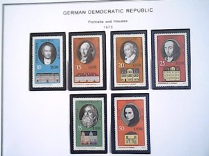 1973  German Democratic Republic  MNH  full page auction