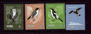 Malta 580-83 MNH 1981 Birds    (ap3708)