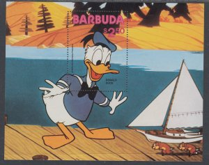 Barbuda 487 Disney's Souvenir Sheet MNH VF