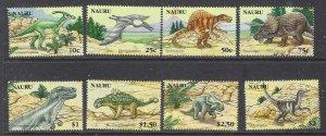 Nauru 556-63 MNH 2006 Prehistoric Animals (ap7329)