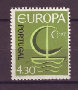 J15263 JLstamps 1966 portugal hv of set mnh #982 europa