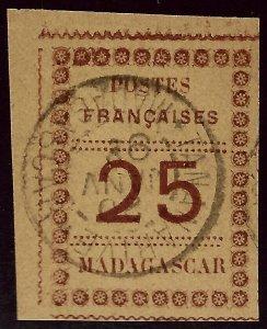 Madagascar SC#11 Used VF hr...Worth a close look!!